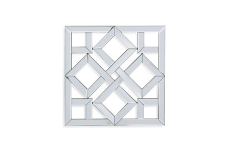 Mirror-Glass Diamond In Square 24X24 - Main