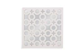 Mirror-White Laquer Charms 20X20
