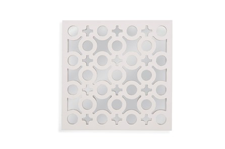 Mirror-White Laquer Charms 20X20 - Main