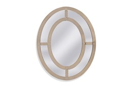 Mirror-Antique Mirror Oval 40X50