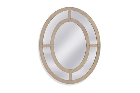 Mirror-Antique Mirror Oval 40X50 - Main