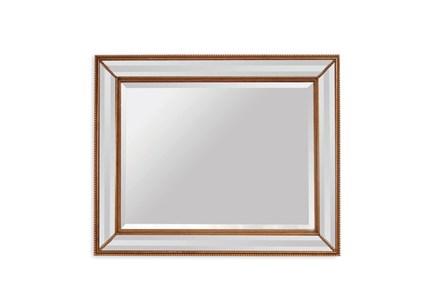 Mirror-Gold Beaded 40X50