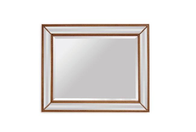 Mirror-Gold Beaded 40X50 - 360