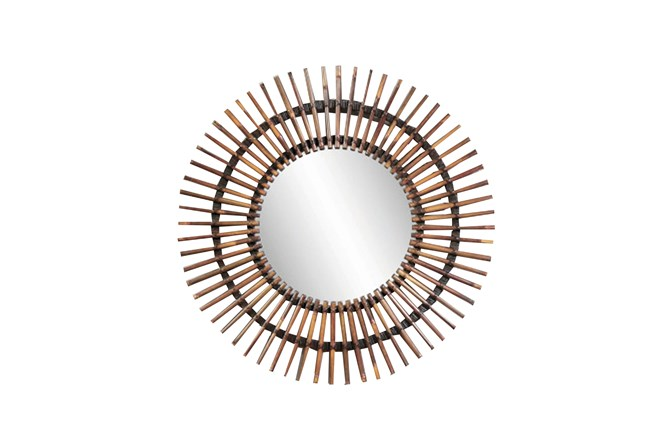 Mirror-Bamboo Starburst 38X38 - 360