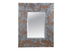 Mirror-Distressed Studded 40X50