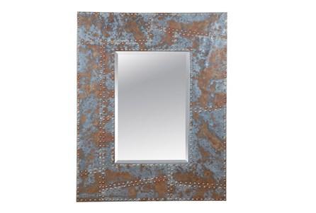 Mirror-Distressed Studded 40X50