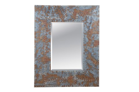 Mirror-Distressed Studded 40X50 - Main