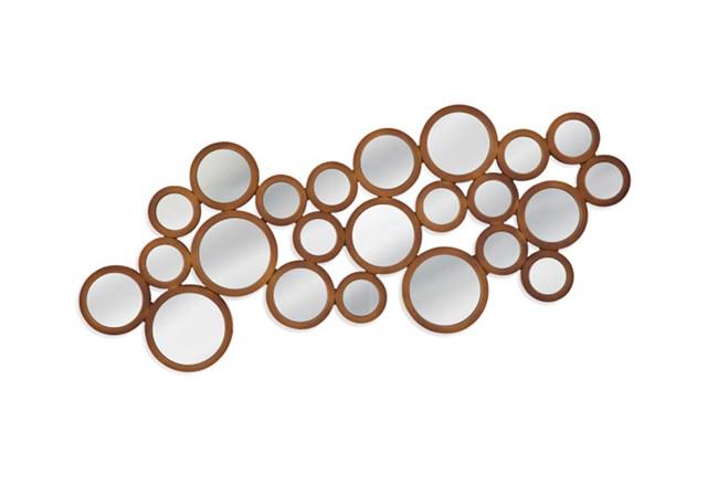 Mirror-Gold Trim Circles 24X50 - 360