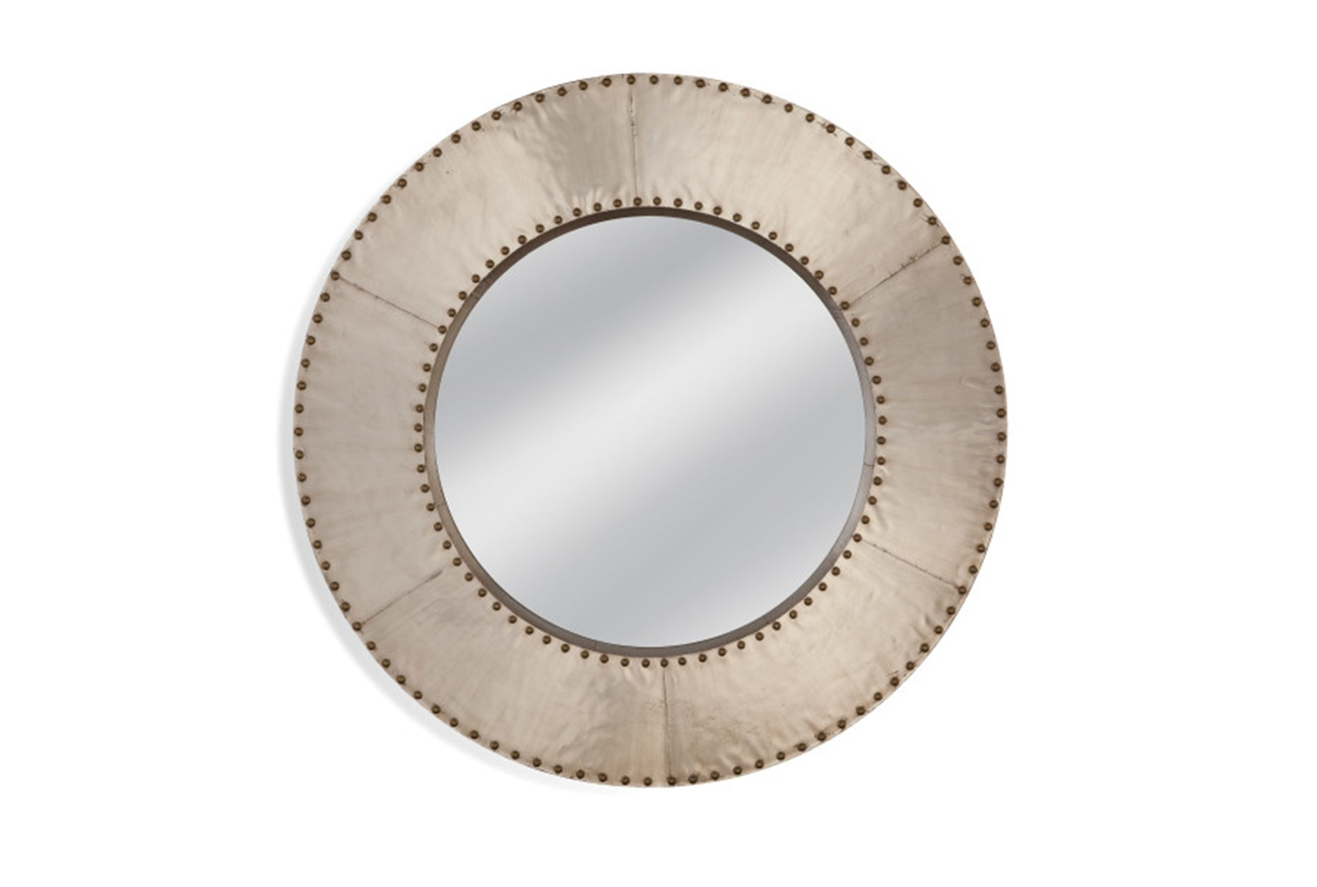 48 x 48 mirror mirrorgrey studded circle 48x48 360 living spaces
