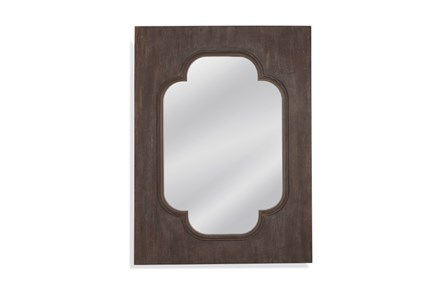 Mirror-Dark Wood Charm 36X48 - Main