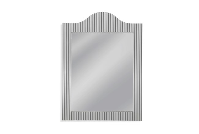 Mirror-Silver Ribbed Arches 28X38 - 360