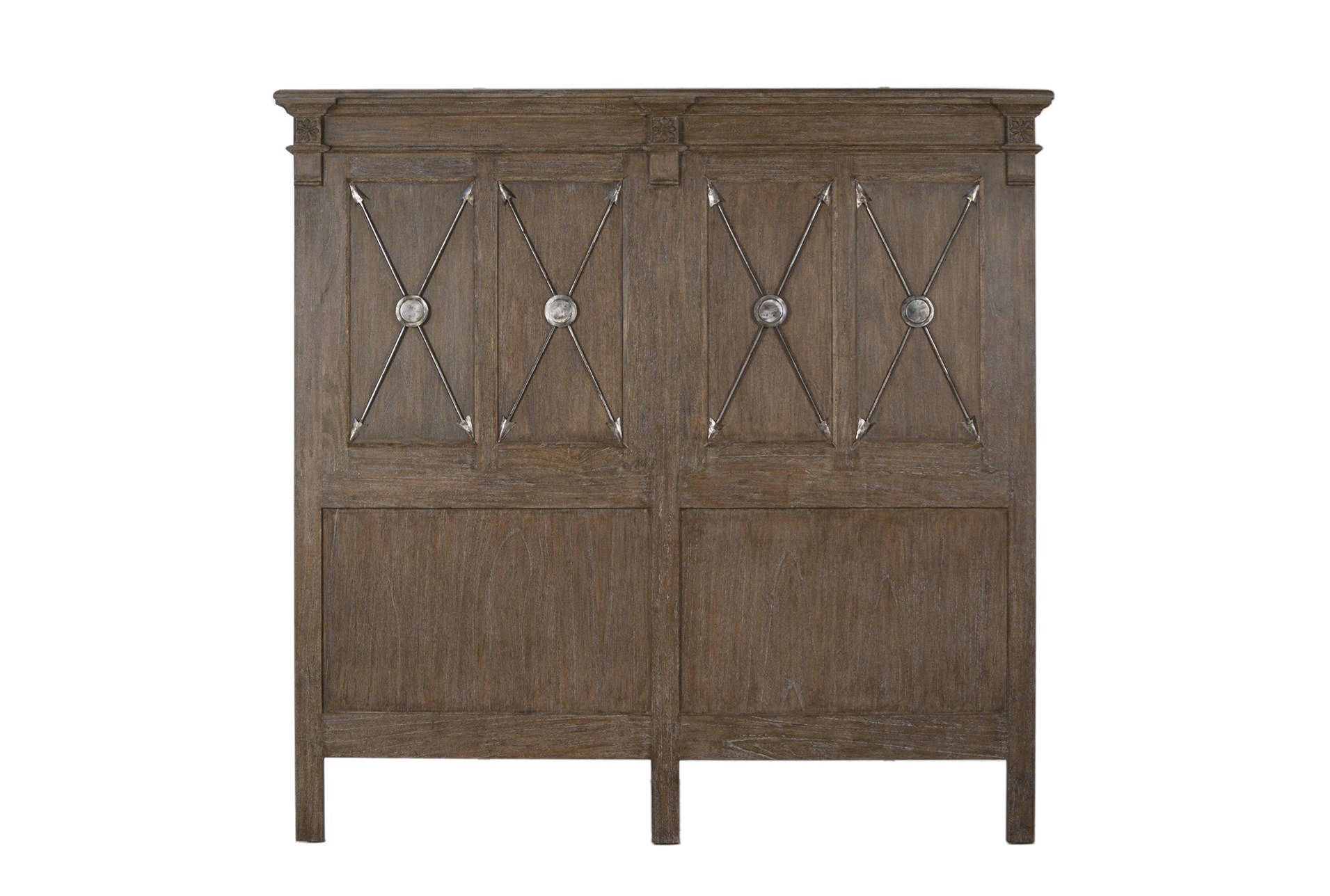 Natural Oak Wood Queen Headboard Qty 1 Has Been Successfully Added To Your Cart