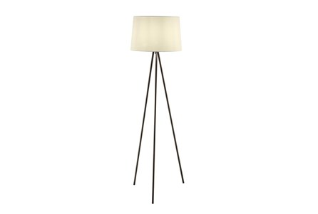 Floor Lamp-Spectra Black