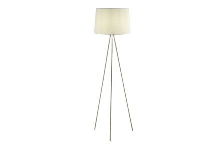 Floor Lamp-Spectra Nickel