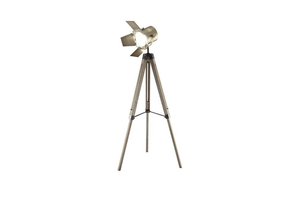 Floor Lamp-Warner Spotlight Tripod