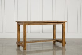 Natural Wood Pub Table