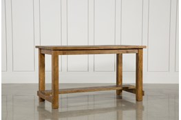 Natural Wood Pub Table
