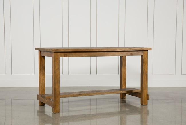 Natural Wood Pub Table - 360