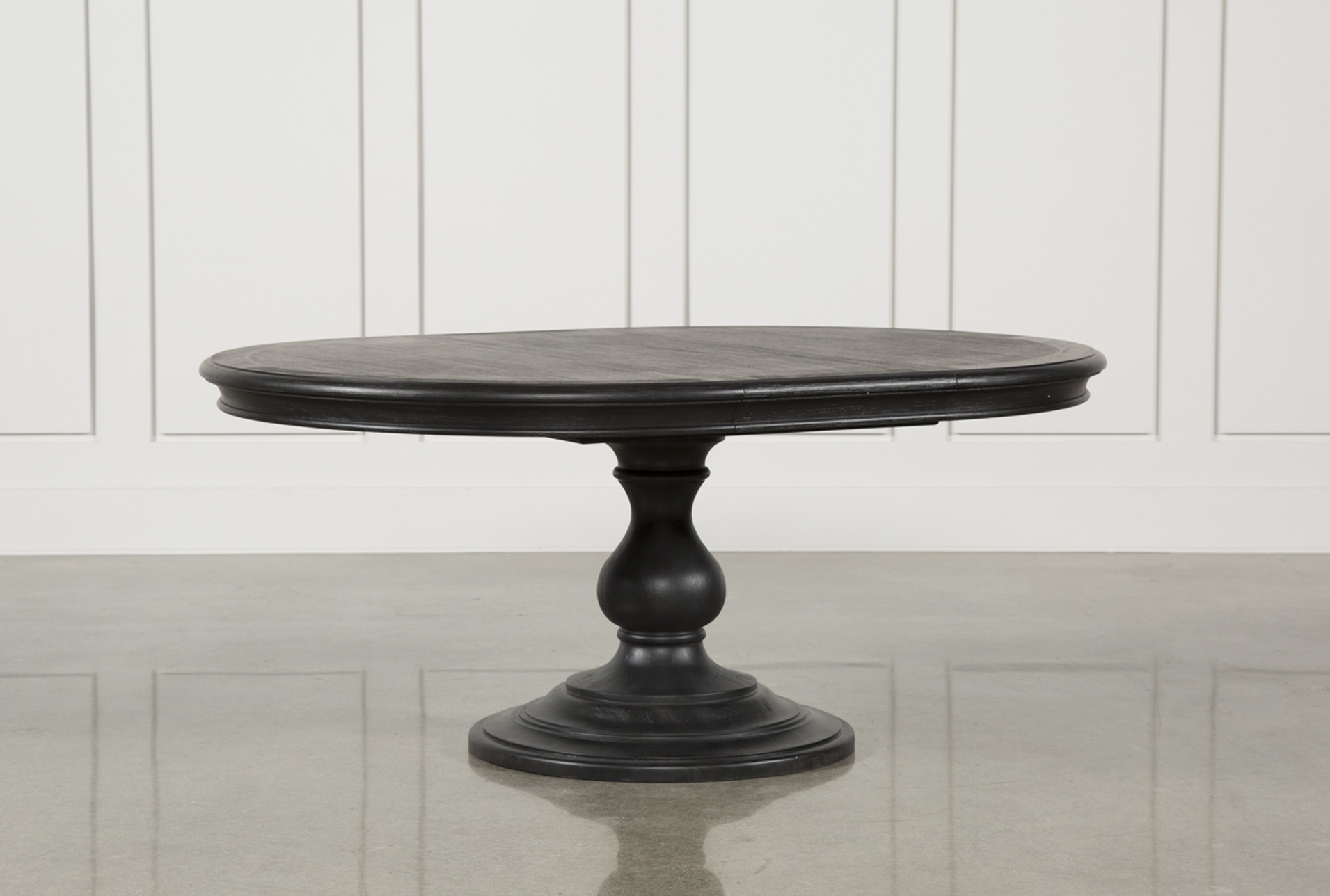 Display Product Reviews For KIT CAIRA BLACK ROUND DINING TABLE