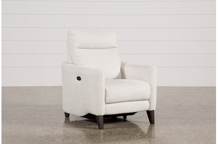 Melina Bisque Power Recliner W/Usb - Main