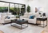 Melina Bisque Power Reclining Sofa W/Usb - Room