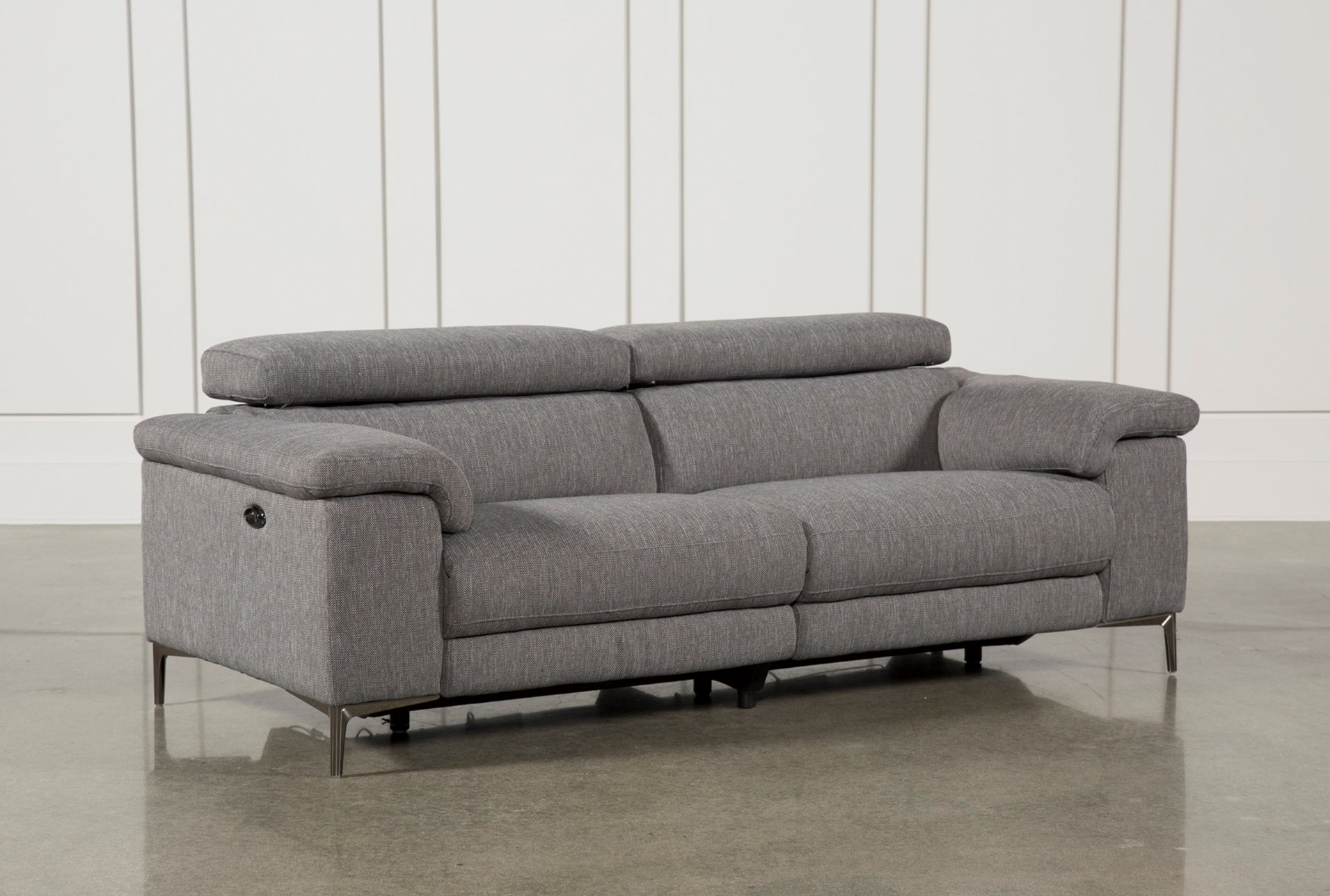 Talin grey power reclining sofa w usb qty 1 has been successfully added to your cart