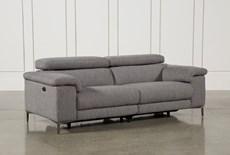 Talin Grey Power Reclining Sofa W/Usb
