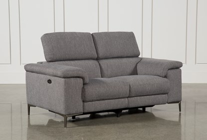 Cool Talin Grey Power Reclining Loveseat W Usb Ocoug Best Dining Table And Chair Ideas Images Ocougorg