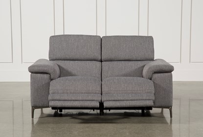 Amazing Talin Grey Power Reclining Loveseat W Usb Ocoug Best Dining Table And Chair Ideas Images Ocougorg
