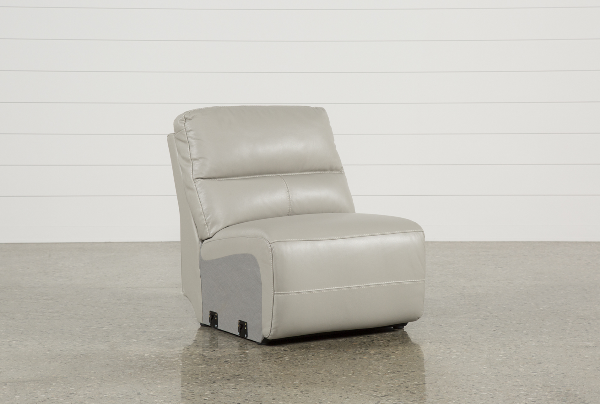 Renaldo Leather Armless Chair (Qty: 1) Has Been Successfully Added To Your  Cart.