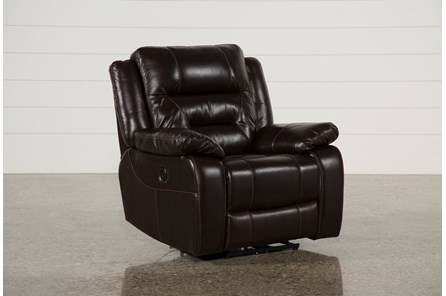 Wayne II Leather Power Recliner W/Usb - Main