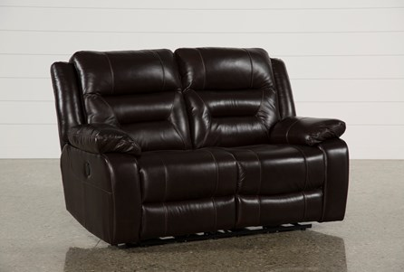 Wayne II Leather Power Reclining Loveseat W/Usb