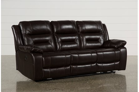 Wayne II Leather Power Reclining Sofa W/Usb - Main
