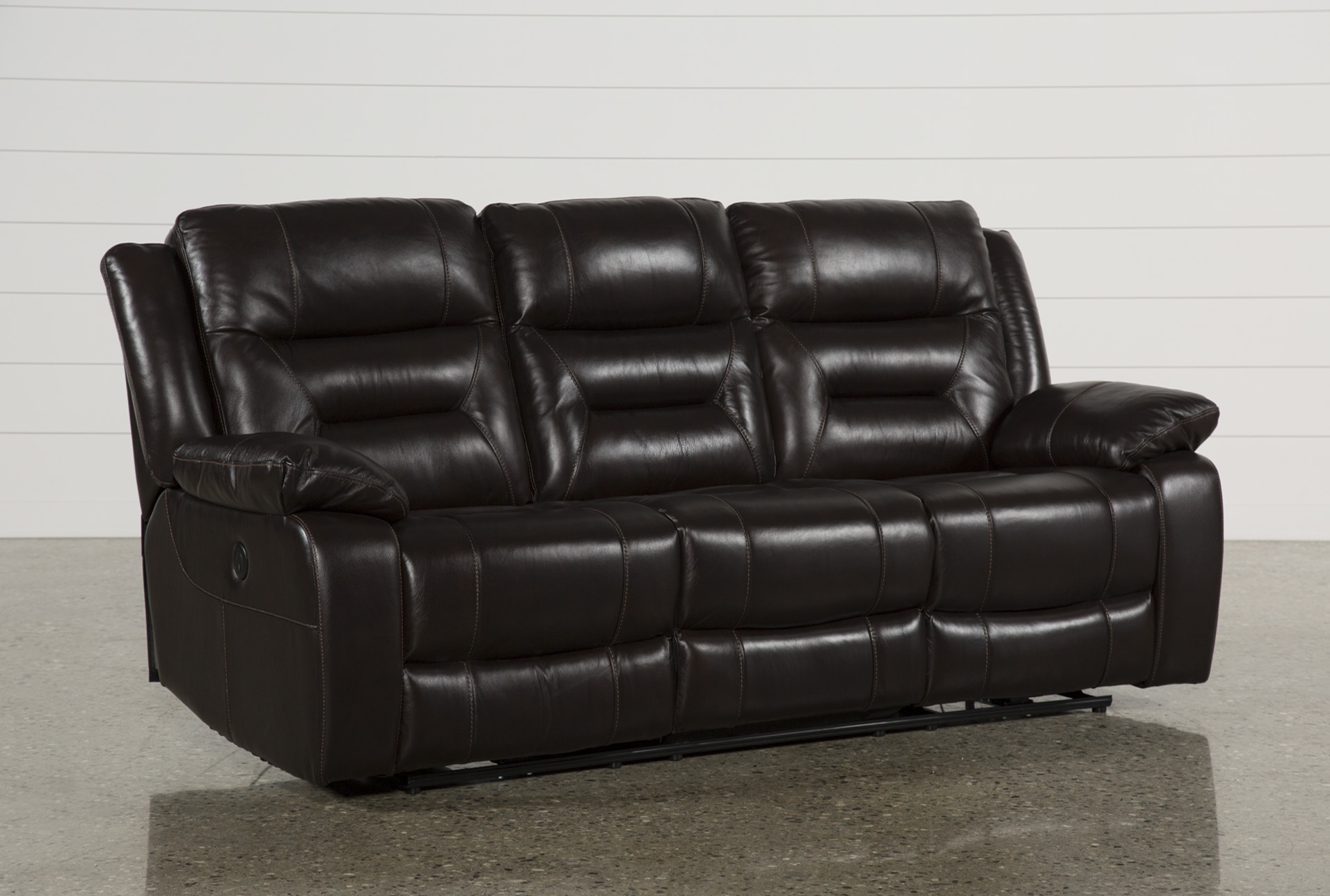 Wayne II Leather Power Reclining Sofa W/Usb   360