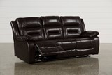 Wayne II Leather Power Reclining Sofa W/Usb - Right