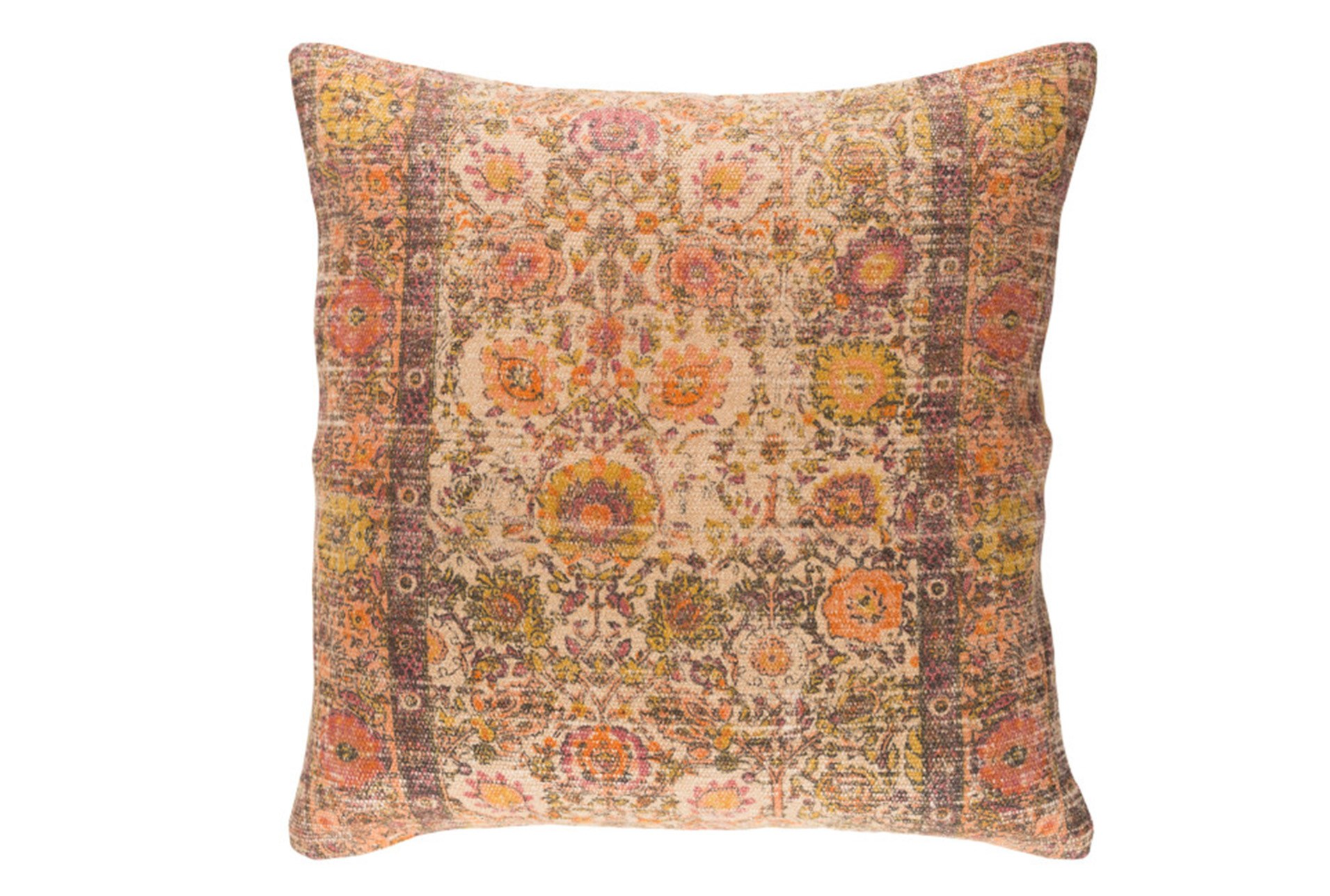 Accent Pillow-Henna Rose/Orange 18X18 Living Spaces