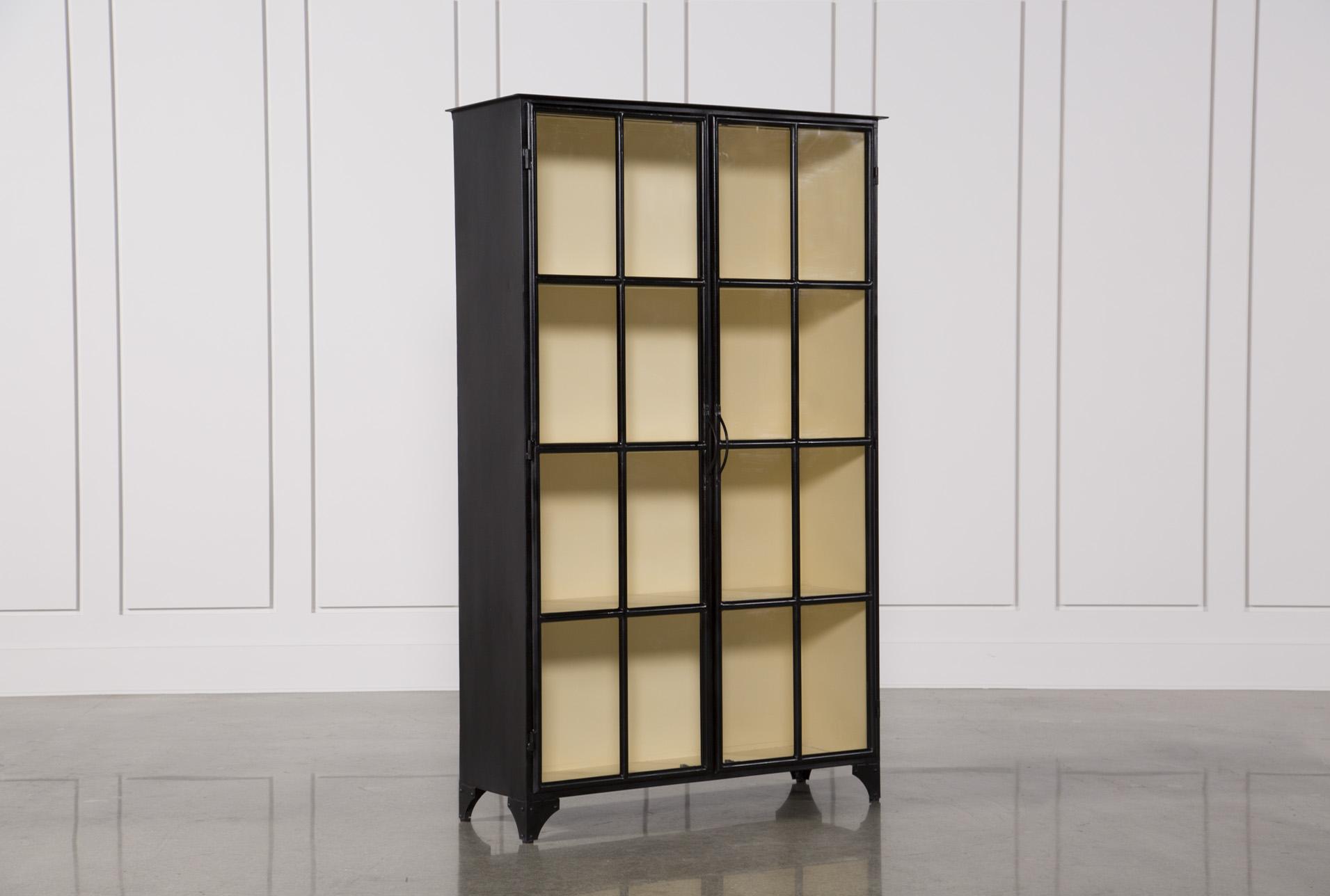 Vintage Tall Curio Cabinet   360