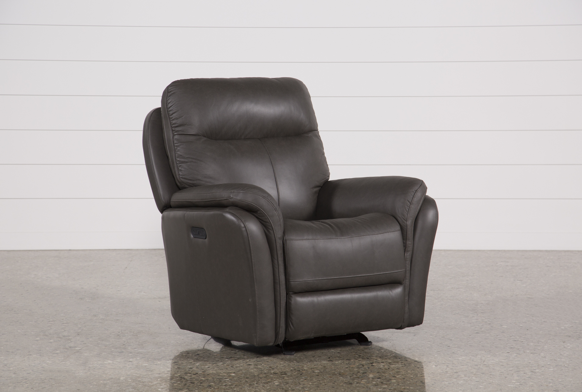 Display Product Reviews For BOWIE LEATHER POWER GLIDING RECLINER W/POWER  HEADREST