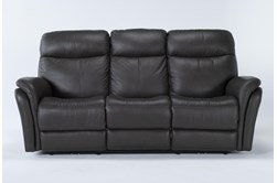 "Bowie Leather 85"" Power Reclining Sofa With Power Headrest"