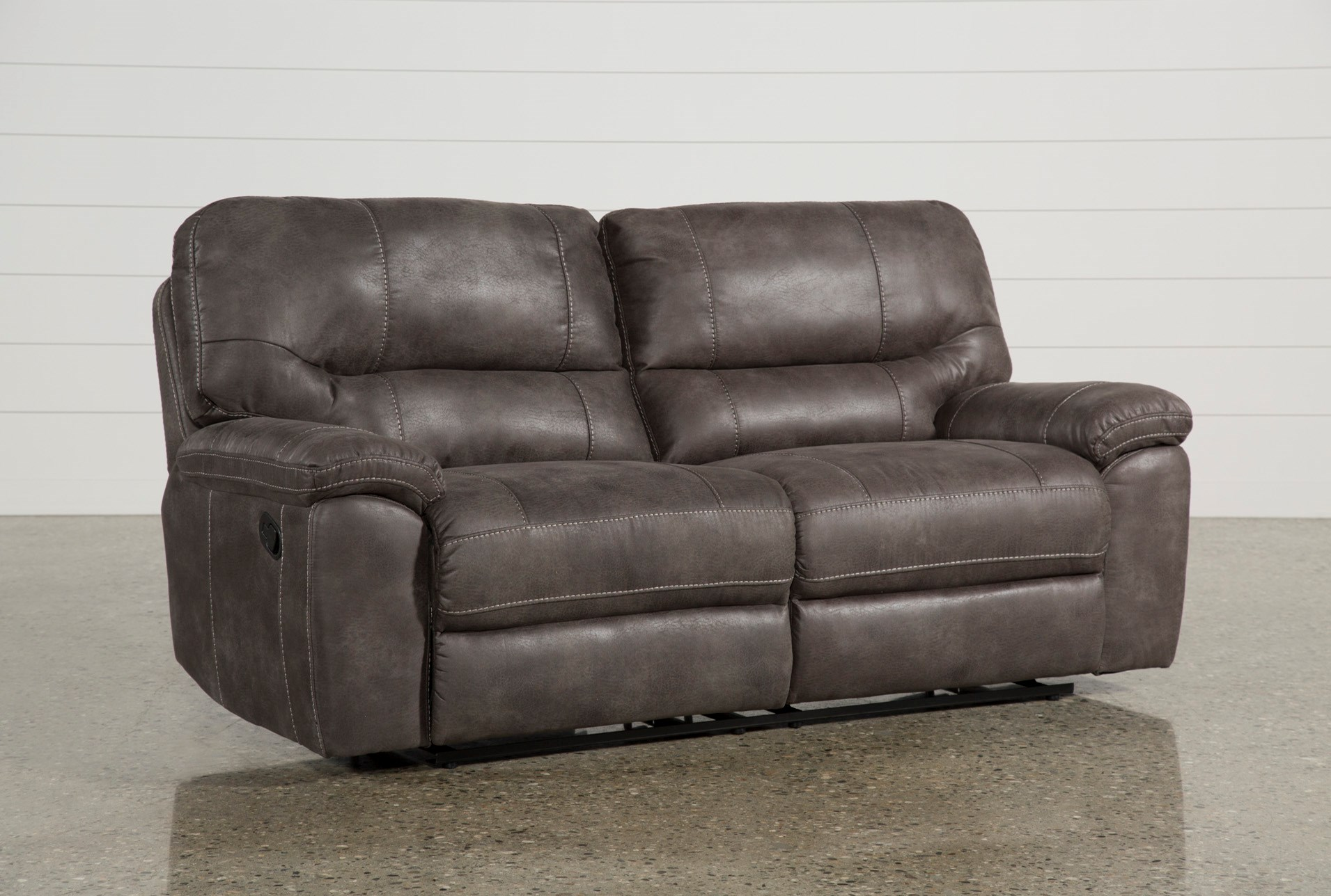 Neve Grey Reclining Sofa Living Spaces ~ Best Place To Buy Reclining Sofa