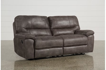Neve Grey Reclining Sofa - Main