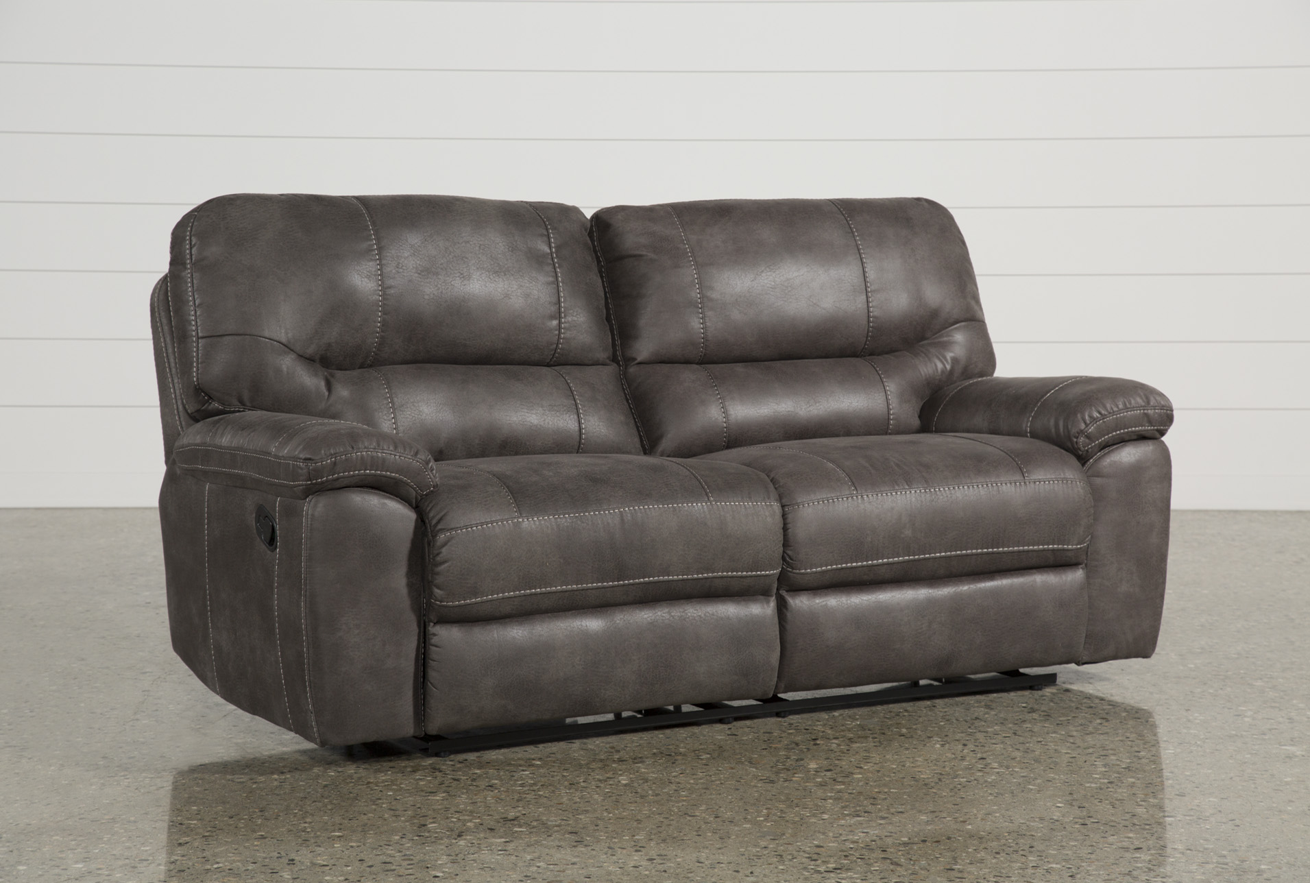 Neve Grey Reclining Sofa (Qty: 1) Has Been Successfully Added To Your Cart.