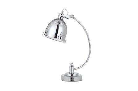 Desk Lamp-Chrome Nautical Spotlight