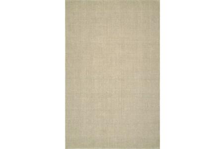 96X120 Rug-Wool Sisal Grid Ivory