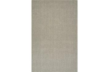 8'x10' Rug-Wool Sisal Grid Mushroom