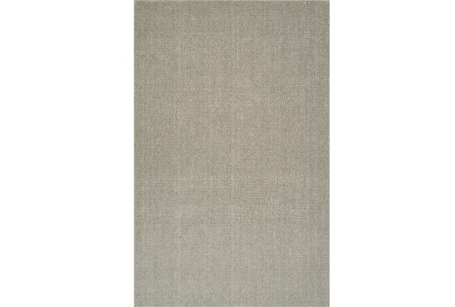 8'x10' Rug-Wool Sisal Grid Mushroom - 360