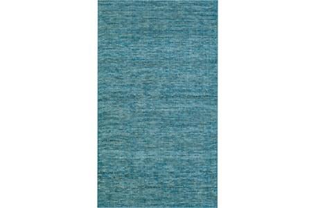 60X90 Rug-Wool Tweed Denim