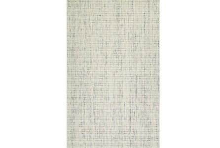 96X120 Rug-Wool Tweed Ivory