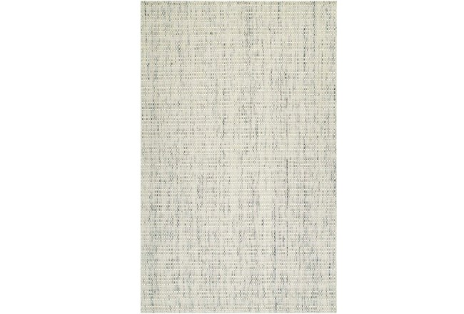 96X120 Rug-Wool Tweed Ivory - 360