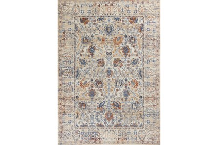 91X130 Rug-Rory Blue/Orange